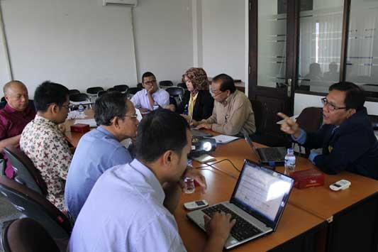 Suasana Hearing Dewan Pengawas dengan SPI dan PJM