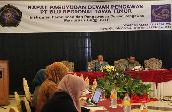 Rapat Paguyuban Dewan Pengawas PT BLU Regional Jawa Timur
